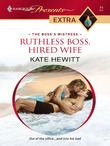 Kate Hewitt - Ruthless Boss, Hired Wife