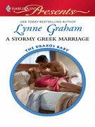 Lynne Graham - A Stormy Greek Marriage
