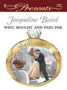 Jacqueline Baird - Wife: Bought and Paid For