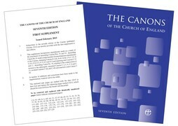 Canons of the Church of England 7th Edition: Full edition WITH First Supplement