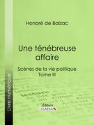 Honore de Balzac - Une ténébreuse affaire