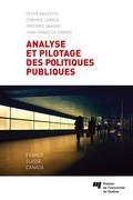 Analyse et pilotage des politiques publiques