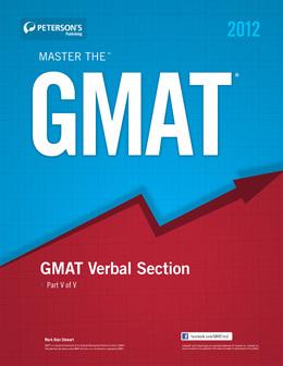 Master the GMAT: GMAT Verbal Section: Part V of V