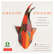 Amazing Origami: Traditional Japanese Folding Papers and Projects [Downloadable Folding Papers]