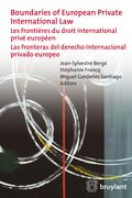 Boundaries of European Private International Law
