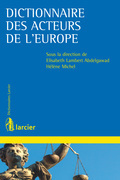 Dictionnaire des acteurs de l'Europe
