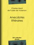Anecdotes littéraires