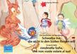 Die Geschichte von der kleinen Schwalbe Ina, die nicht in den Süden fliegen will. Deutsch-Italienisch. / La storia della rondinella Sofia, che non vuole volare al sud. Tedesco-Italiano.
