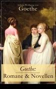 Goethe: Romane & Novellen (19 Titel in einem Band - Vollständige Ausgaben)