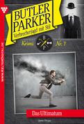 Butler Parker 7 - Kriminalroman