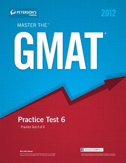 Master the GMAT: Practice Test 6: Practice Test 6 of 6
