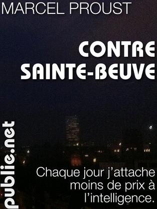 Contre Sainte-Beuve