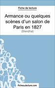 Armance ou quelques scènes d'un salon de Paris en 1827