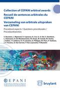 Collection of CEPANI arbitral awards / Recueil de sentences arbitrales du Cepani / Verzameling van arbitrale uitspraken van Cepani