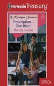 Prescription--One Bride