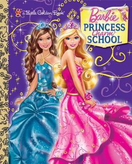 Princess Charm School Little Golden Book (Barbie)