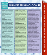 Business Terminology II (Speedy Study Guides)