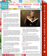 English Common Core 12th Grade (Speedy Study Guides)
