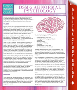 DSM-5 Abnormal Psychology (Speedy Study Guides)