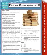 English Fundamentals 3 (Speedy Study Guides)