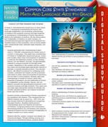 Common Core State Standards: Math And Language Arts 4th Grade: (Speedy Study Guides)