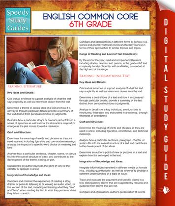 English Common Core 6th Grade (Speedy Study Guides)