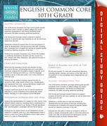 English Common Core 10th Grade (Speedy Study Guides)