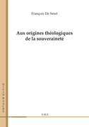 Aux origines théologiques de la souveraineté