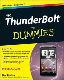 HTC ThunderBolt For Dummies