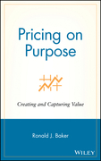 Pricing on Purpose: Creating and Capturing Value