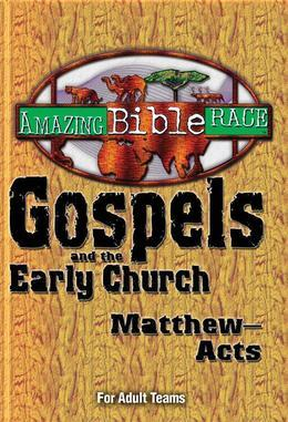 Amazing Bible Race - For Adult Teams (Matthew-Acts)