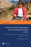 Gender-Sensitive Approaches for the Extractive Industry in Peru