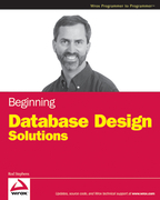 Beginning Database Design Solutions