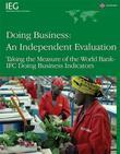 Doing Business -- An Independent Evaluation