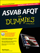ASVAB AFQT For Dummies, with Online Practice Tests