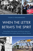 When the Letter Betrays the Spirit: Voting Rights Enforcement and African American Participation from Lyndon Johnson to Barack Obama