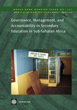 Governance, Management, and Accountability in Secondary Education in Sub-Saharan Africa