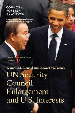 Un Security Council Enlargement and U.S. Interests