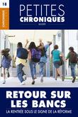Petites Chroniques #18 :  Retour sur les bancs — La rentrée sous le signe de la réforme