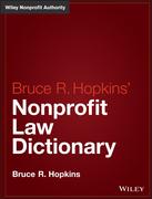 Hopkins' Nonprofit Law Dictionary