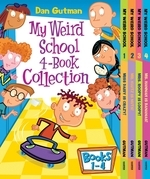 My Weird School 4-Book Collection with Bonus Material: My Weird School #1: Miss Daisy Is Crazy!; My Weird School #2: Mr. Klutz Is Nuts!; My Weird Scho