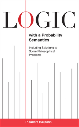 Logic with a Probability Semantics