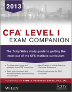 7city Learning - CFA Level I Exam Companion