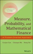Measure, Probability, and Mathematical Finance