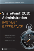 SharePoint 2010 Administration Instant Reference