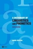 Dictionary of Linguistics and Phonetics