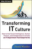 Transforming IT Culture