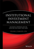 Institutional Investment Management