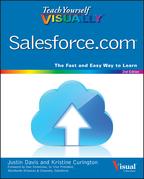 Justin Davis - Teach Yourself VISUALLY Salesforce.com