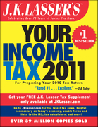 J.K. Lasser's Your Income Tax 2011